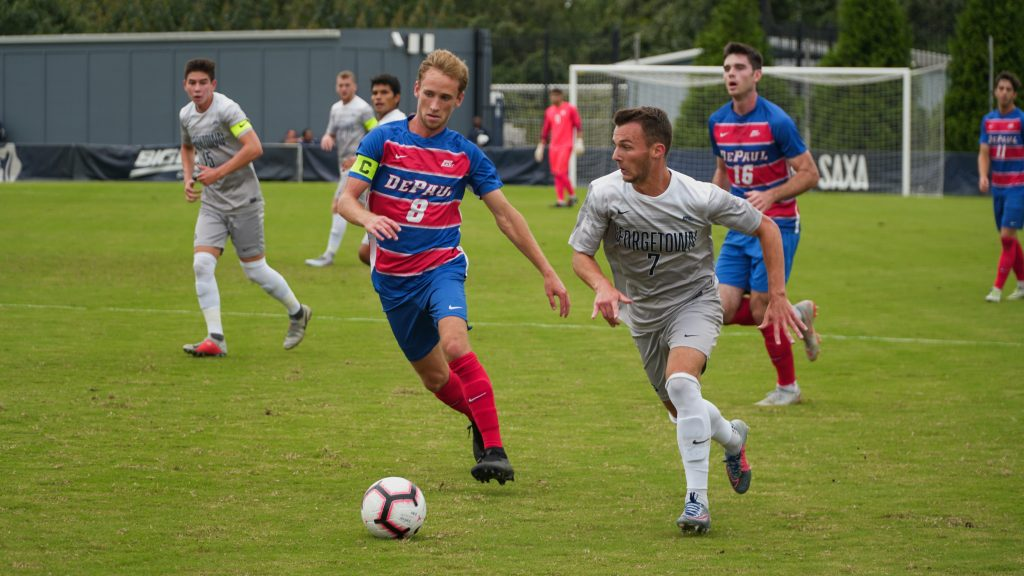 Men's Soccer Hosts Maryland in Non-Conference Matchup
