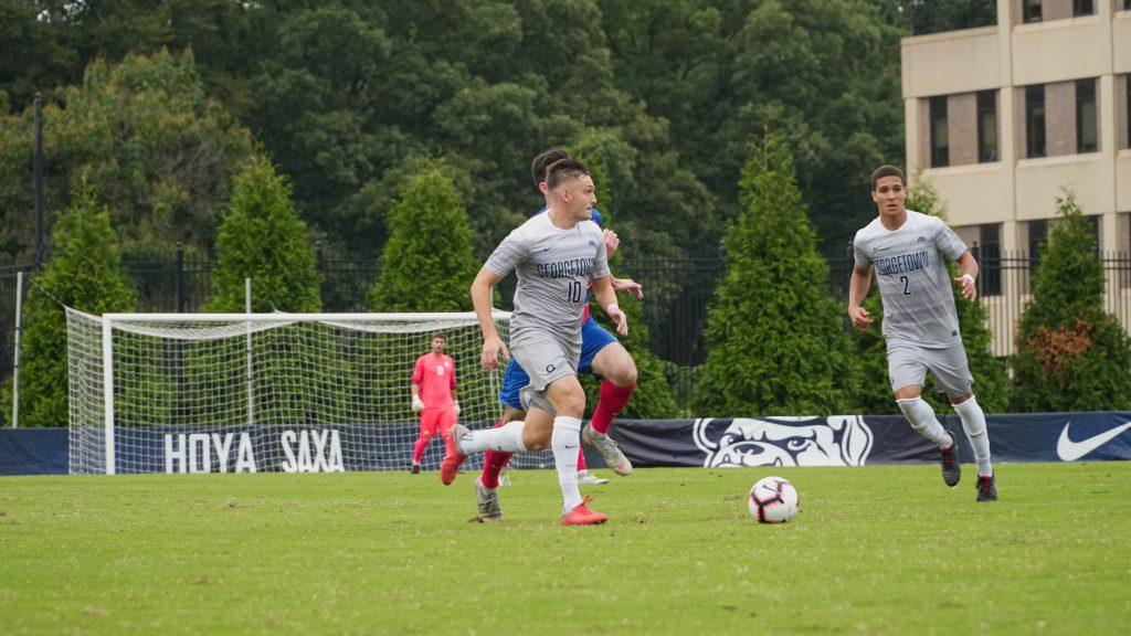 Men's Soccer Returns to Big East Play Against Villanova