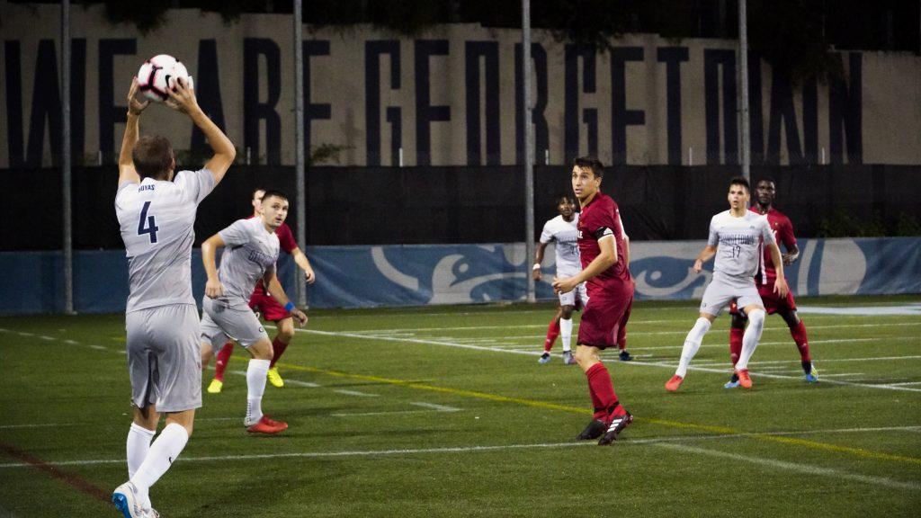 No. 24 Men's Soccer Hosts St. John's for Senior Day