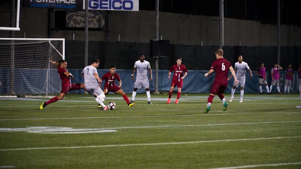 Men's Soccer Ends in Scoreless Draw Against Maryland