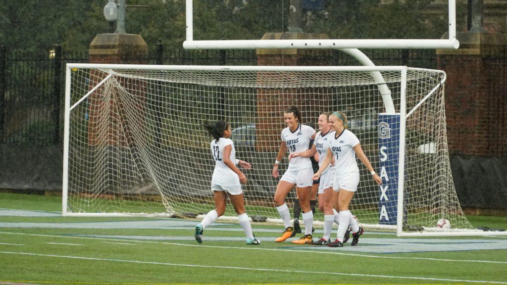 No. 5 women's soccer explodes for seven goals at Creighton