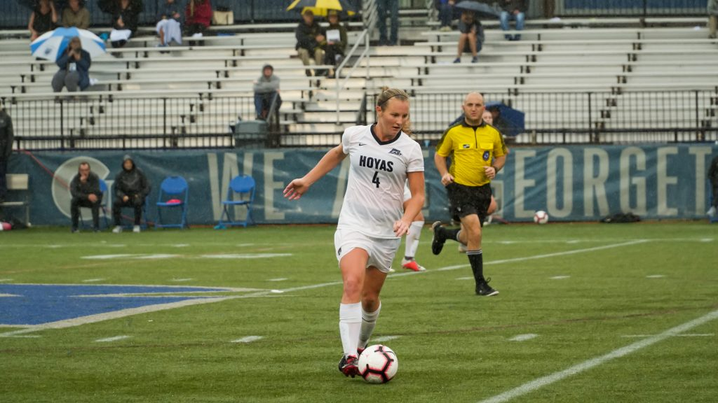 No. 4 Women's Soccer Stays Undefeated With OT Win Over Marquette