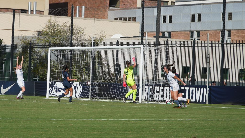No. 5 Women's Soccer Remains Perfect in Big East play with OT Win