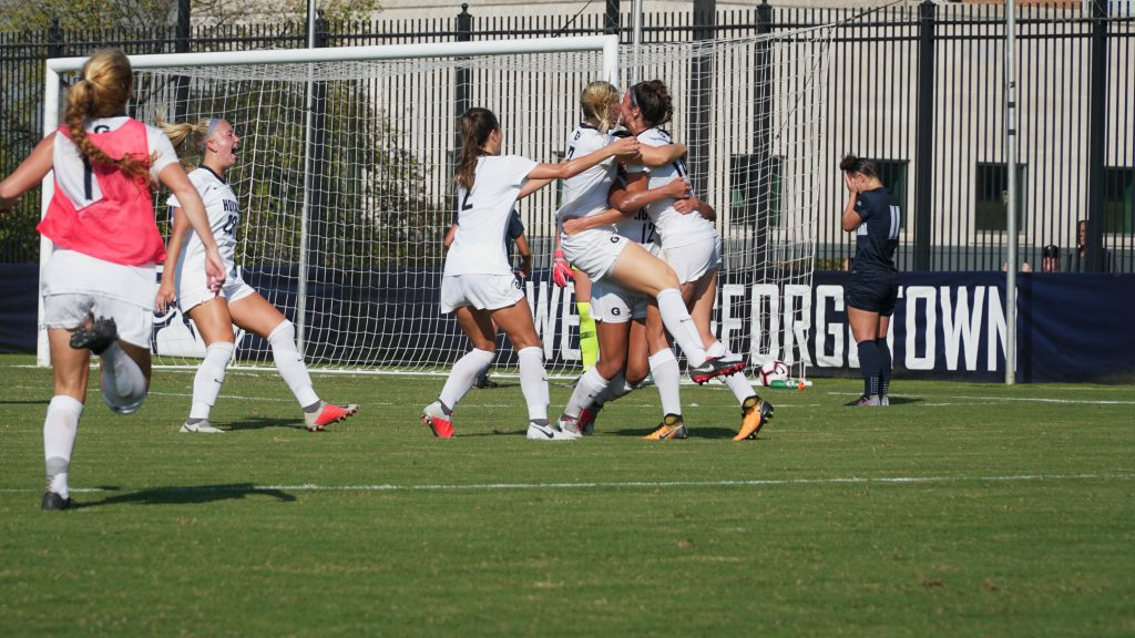 Women's soccer wins Big East regular season title against Butler