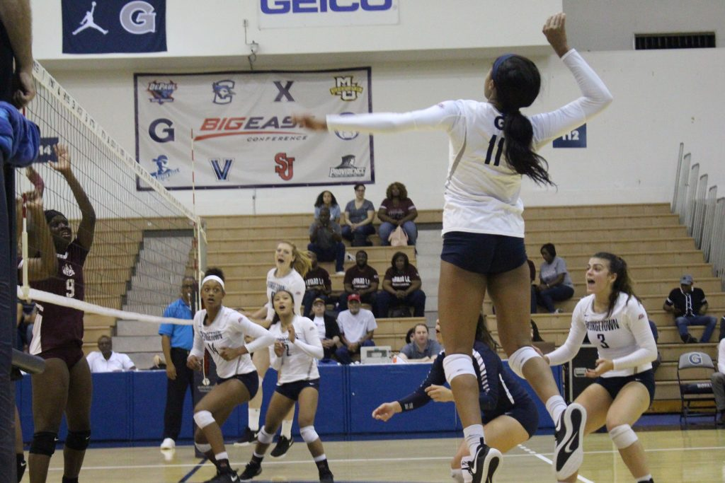 Volleyball Drops Weekend Pair on the Road