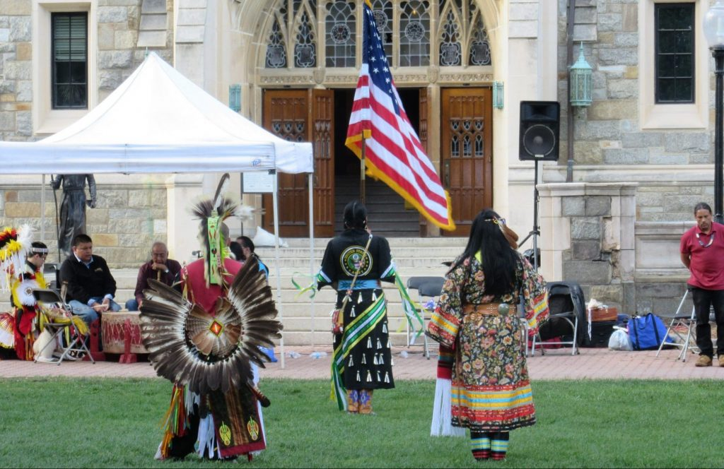 Native American Students Look for Campus Community