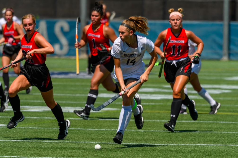 Field Hockey Gets Historic 10th Win Over Towson