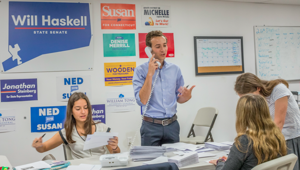 Will Haskell Win? Recent Grad Runs for State Senate