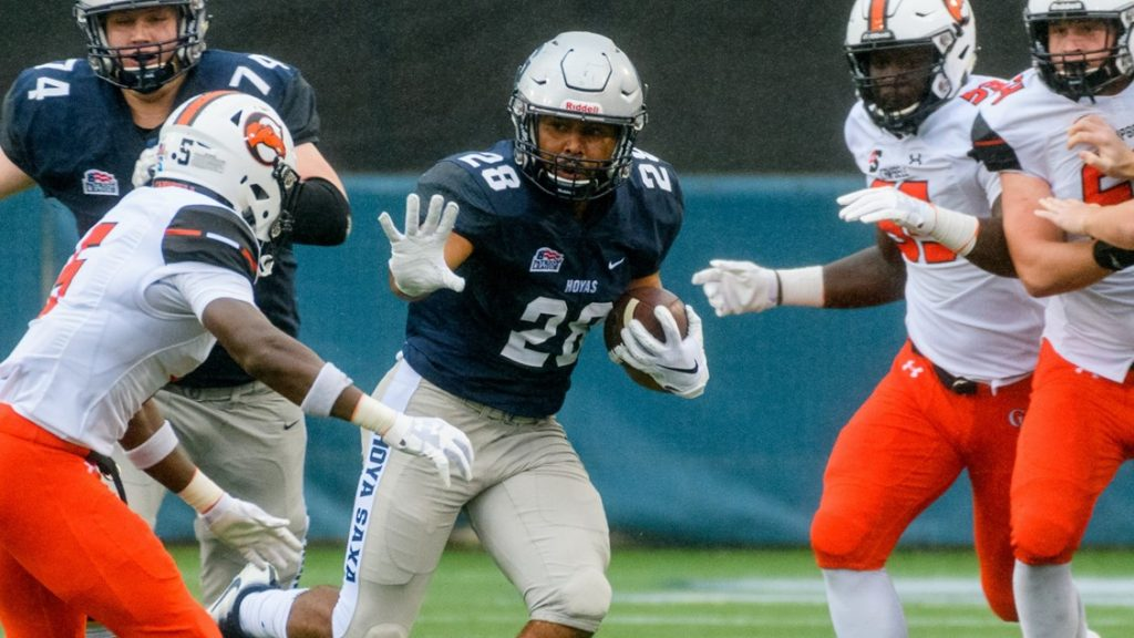 Football Beats Fordham in Conference Opener