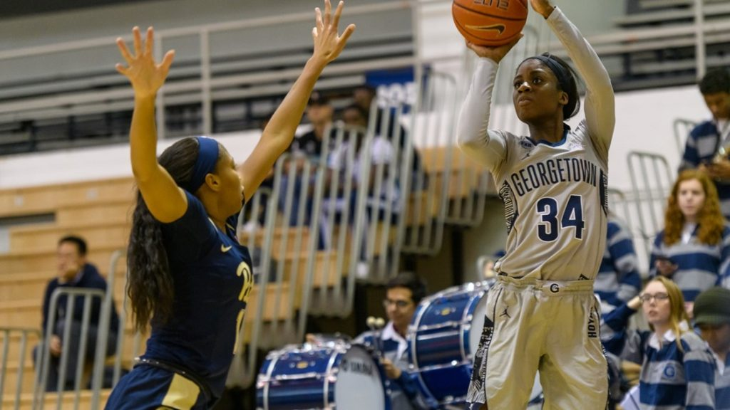 Women's Basketball Cruises to Victory over Pitt