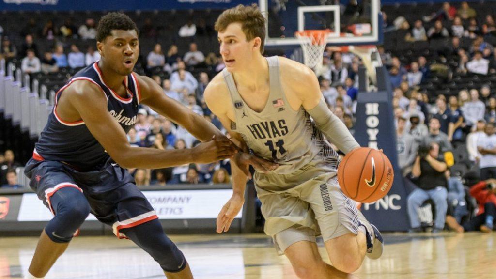 Men's Basketball Defeats Richmond Despite Uninspired Performance