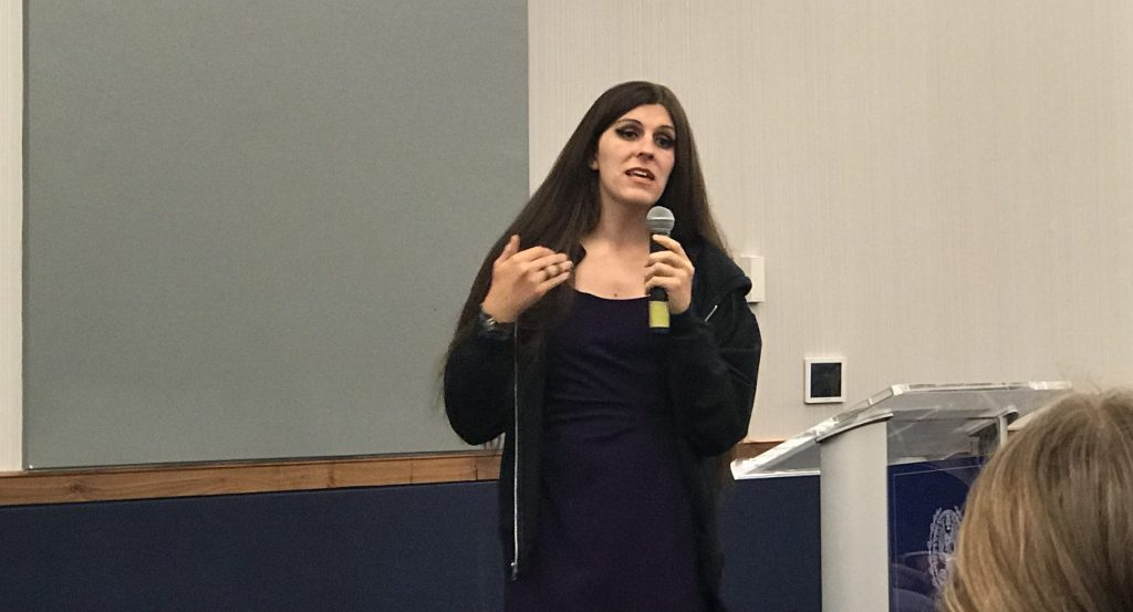 Danica Roem encourages students to make their voices heard