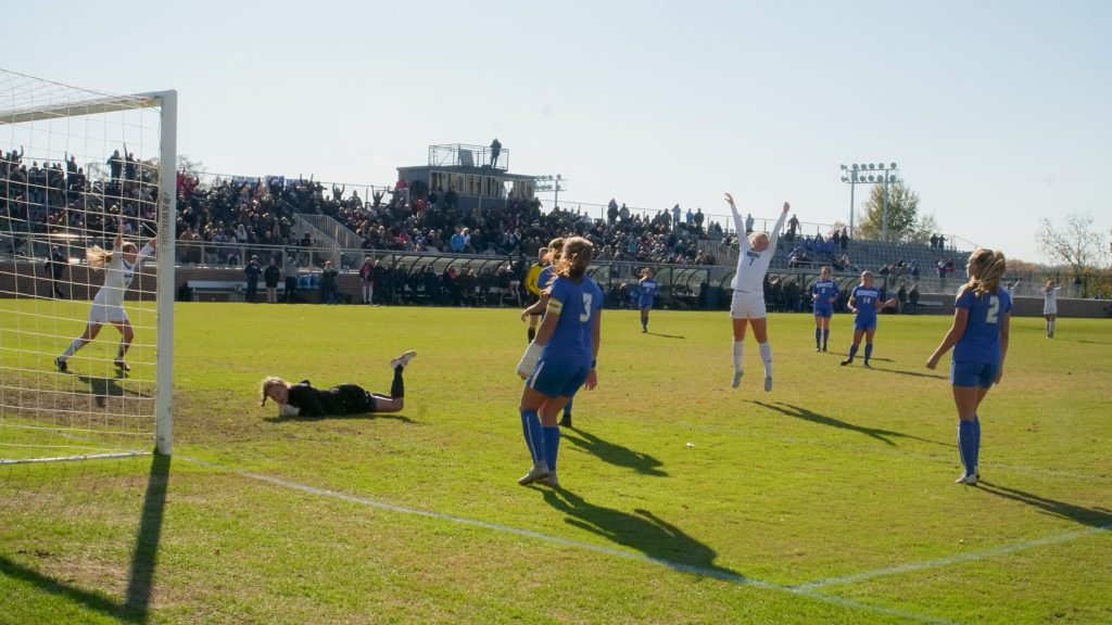 No. 2 women's soccer moves on to NCAA Tournament Second Round