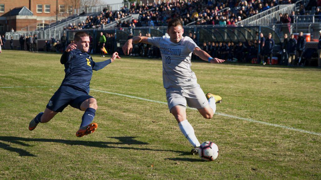 Men's Soccer Begins NCAA Tournament Against West Virginia