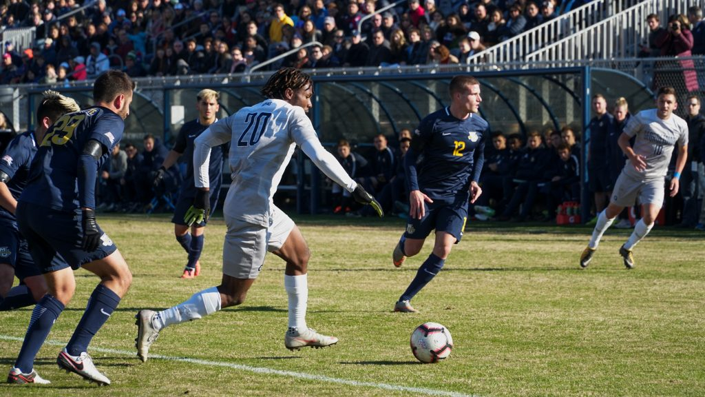 Men's Soccer Comes Up Short in Third Round Against Michigan State