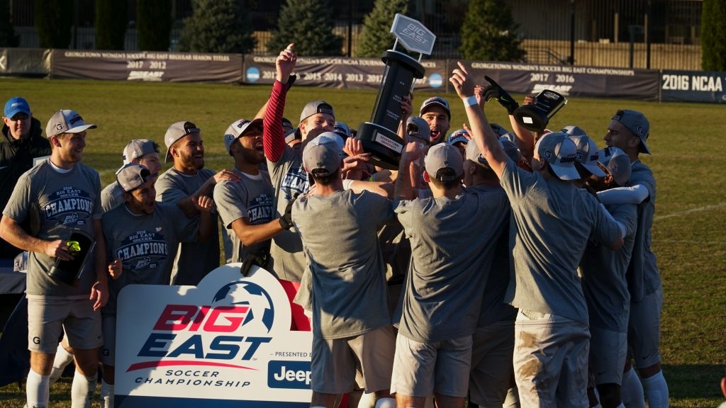 Men's Soccer Repeats as Big East Tournament Champions