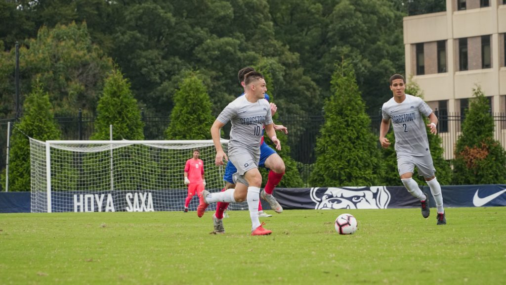 No. 19 Men's Soccer Beats Providence to Earn Spot in Big East Championship