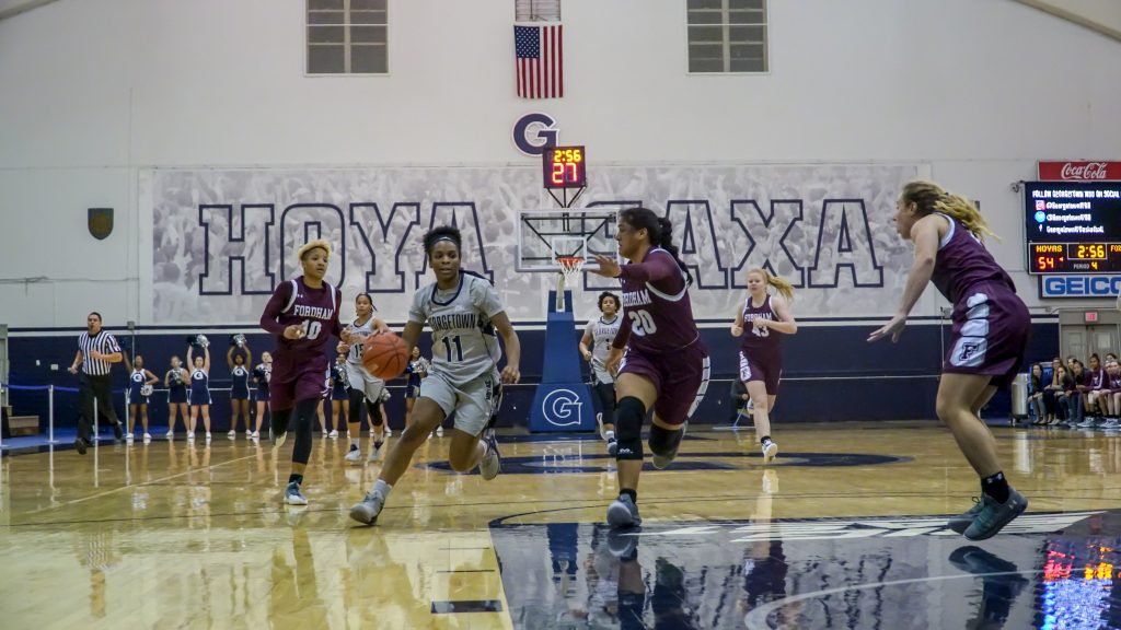 Women's Basketball Bounces Back to Remain Undefeated at Home