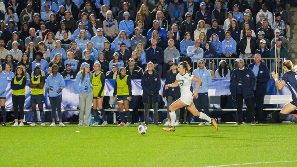 Women's Soccer's Season Ends with a Grueling Double Overtime Defeat to UNC