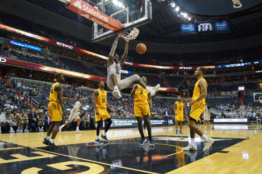 Rising Up: Hoyas Reach for New Heights in Ewing's Second Year