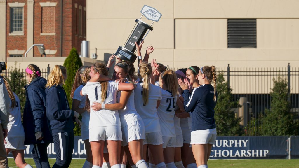 Women's Soccer Defeats Butler for a Third Straight Big East Crown
