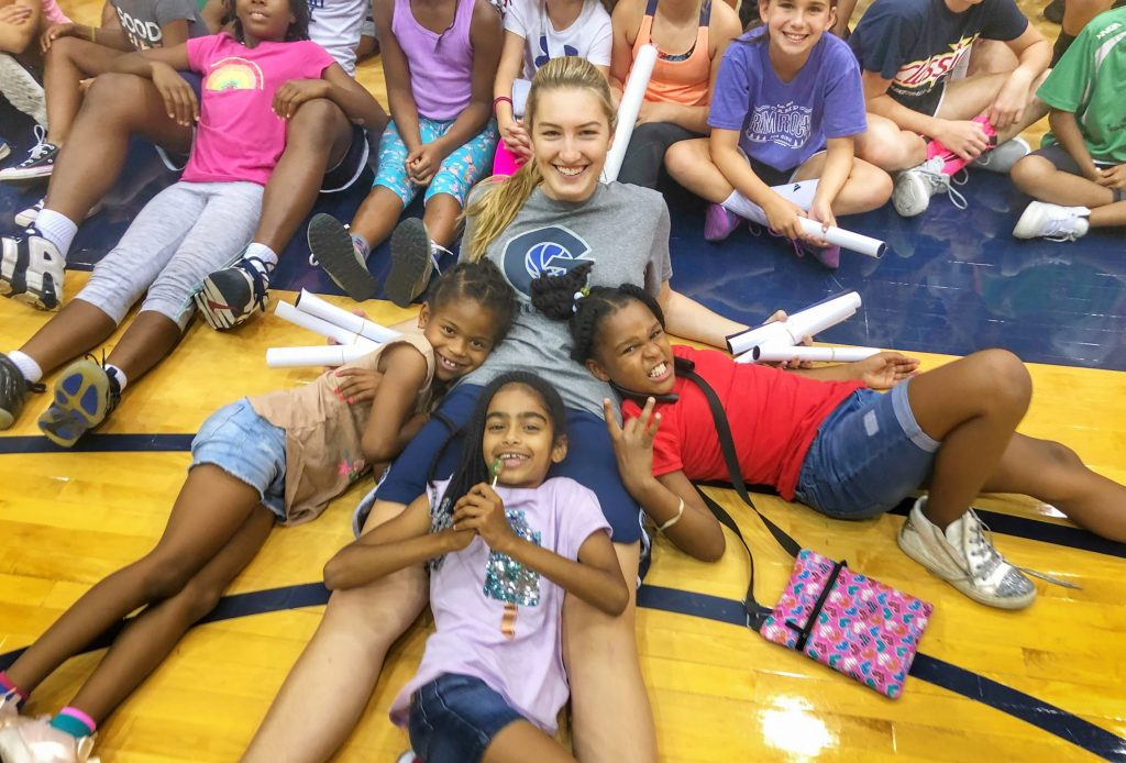 Playing it Forward: Women's basketball's Day Camp expands access to D.C. community