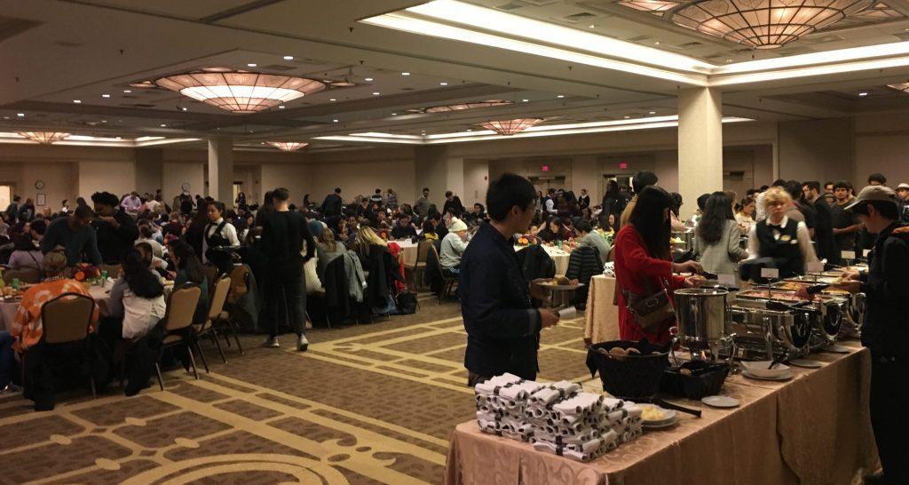 DeGioia hosts 18th annual Thanksgiving Dinner