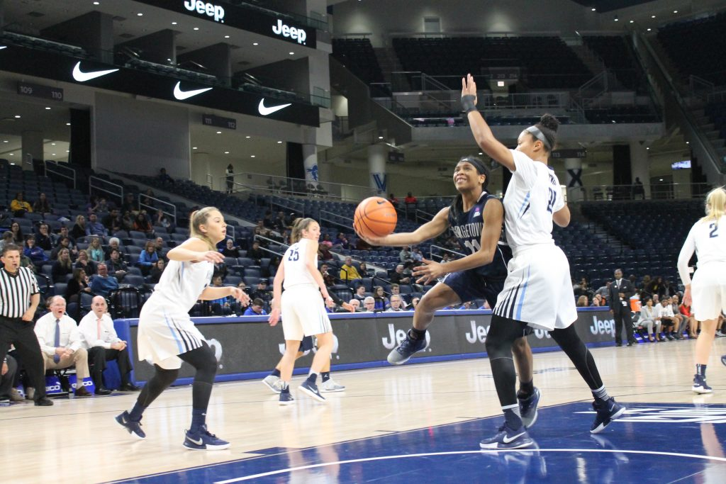 Women's Basketball Takes Care of Maryland Eastern Shore at Home