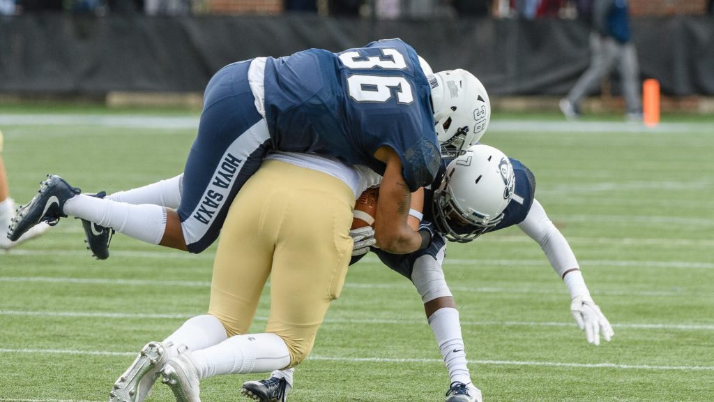Football Ends Season With Loss to Holy Cross