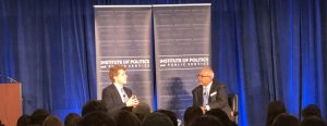 Kennedy discusses midterm elections, healthcare, and bipartisanship in G.U. Politics event