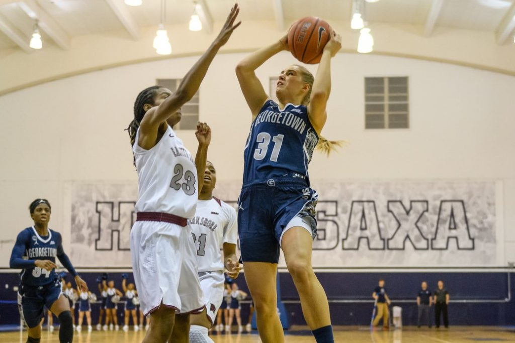 Women's Basketball Falls to 1-1 in Big East Play with Loss to Butler