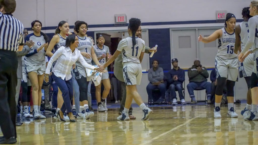 Women's Basketball Opens Big East Action with Comeback Over Xavier