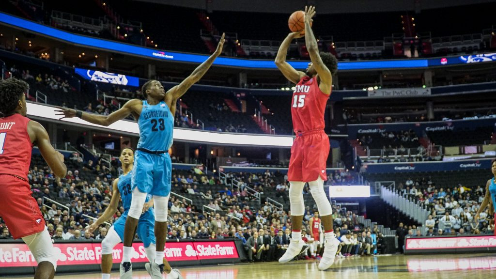 Men's Basketball's Late Push Not Enough Against SMU