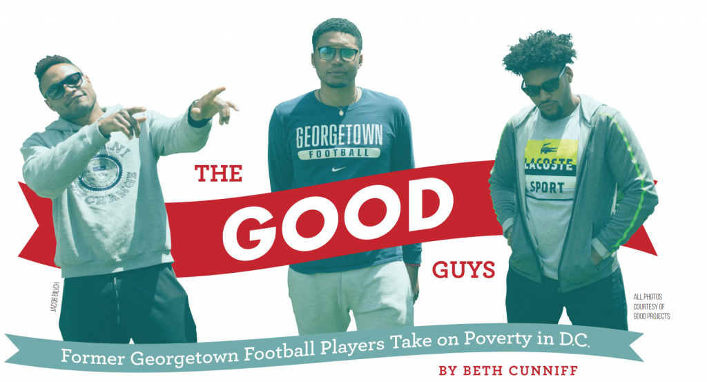 The GOOD Guys: Former Georgetown Football Players Take On Poverty in D.C.