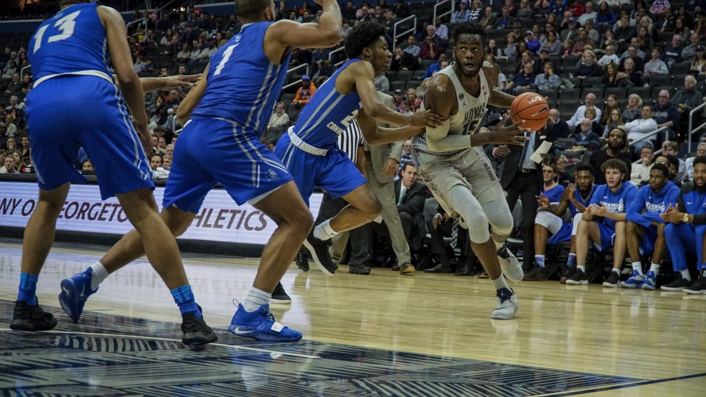 Govan's 27 Not Enough as Men's Basketball Falls to Xavier