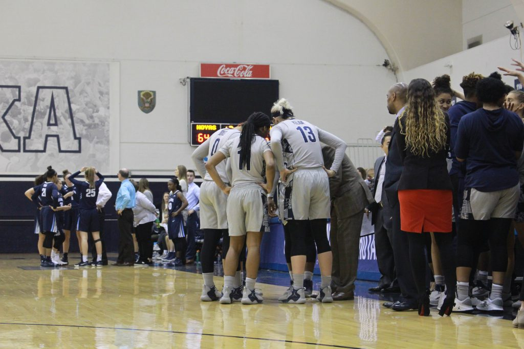 Women's Basketball Can't Keep up with Seton Hall on the Road