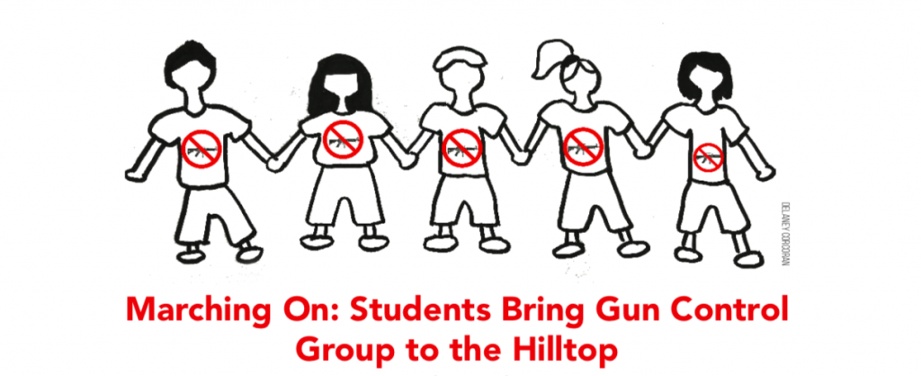 Marching On: Students Bring Gun Control Group to the Hilltop
