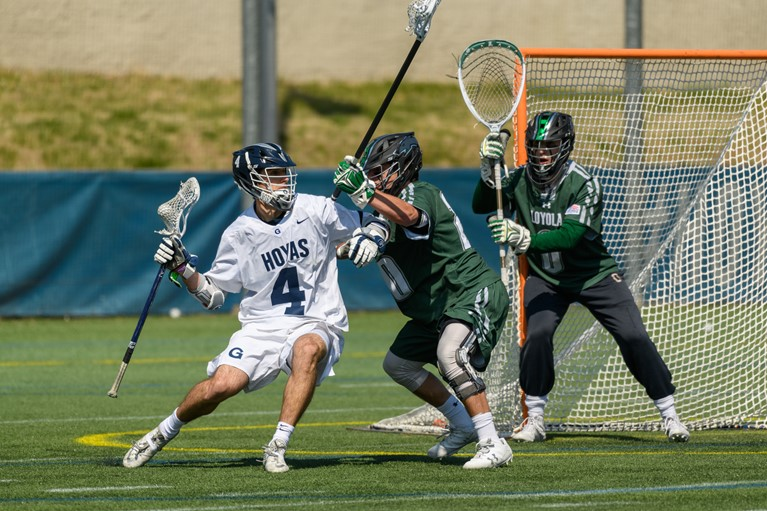 No. 17 Men's Lacrosse Takes Down Robert Morris with Late Run