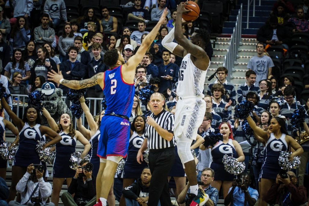 Men's Basketball Recovers with Solid Home Win over DePaul