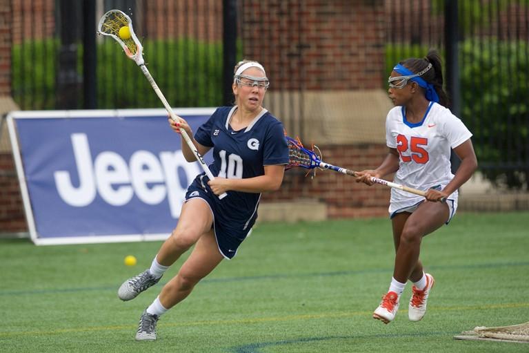 Women's Lacrosse Tramples Drexel at Cooper for 3-0 Start