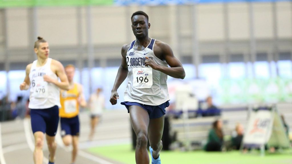 Men's Track and Field Takes Fourth in Distance Medley in Winston-Salem
