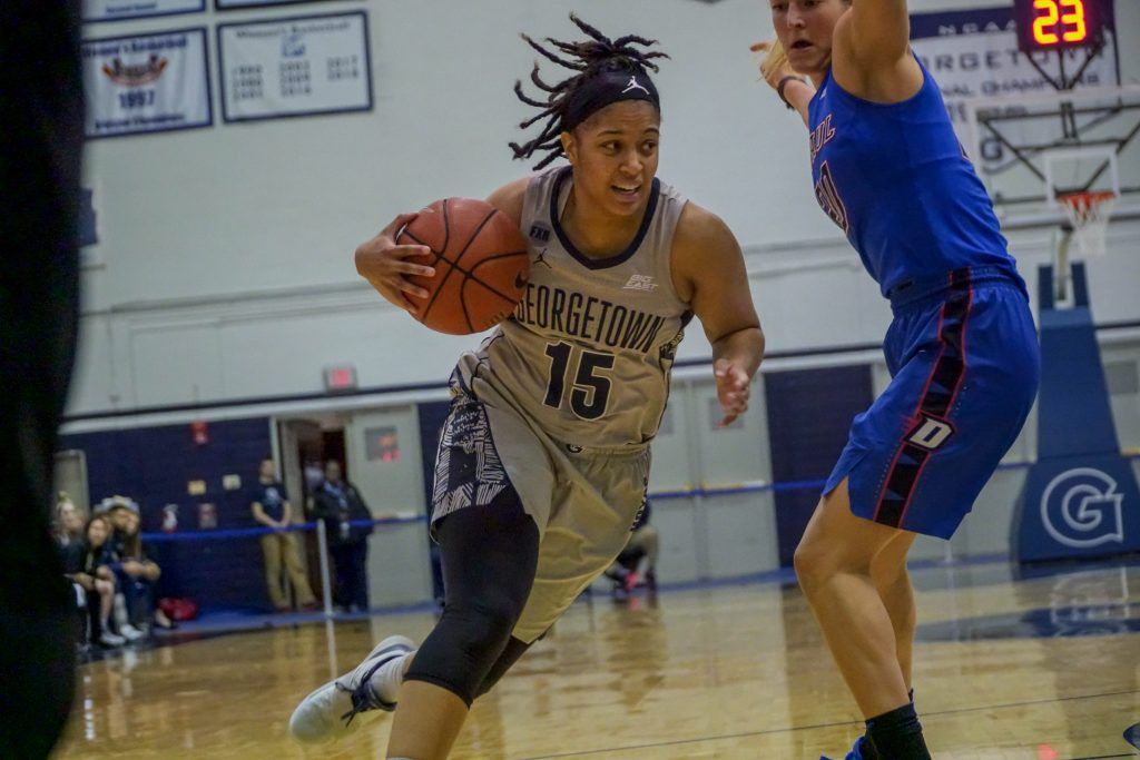 Foul Trouble Torments Women's Basketball in Away Loss to DePaul