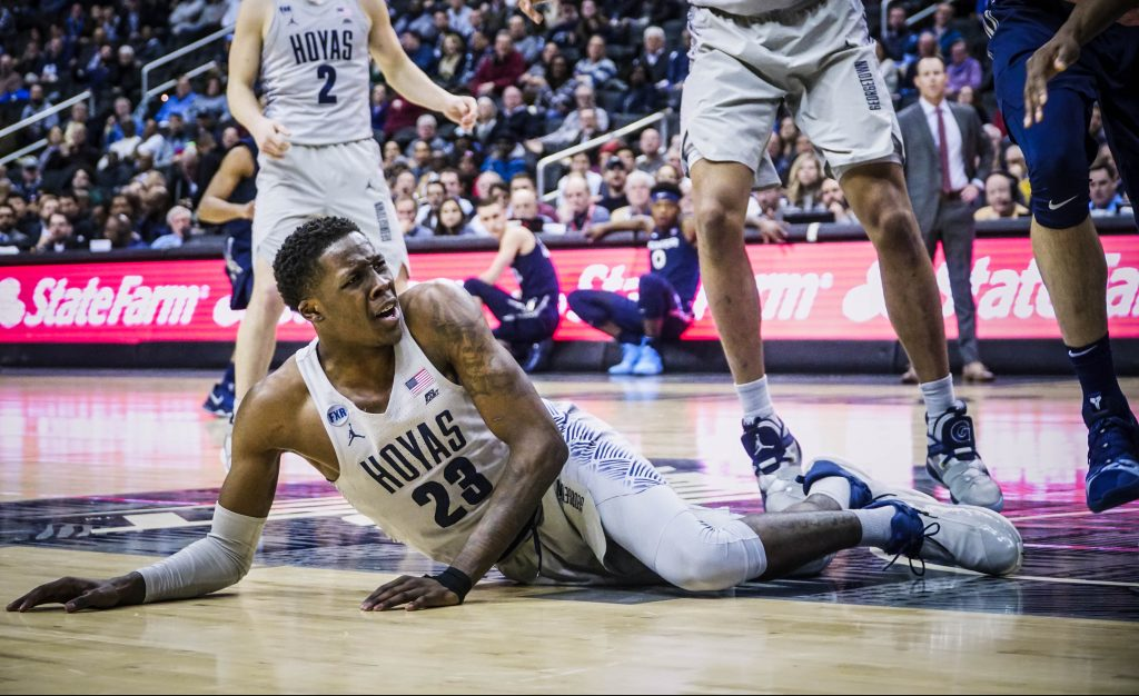 Men's Basketball Stumbles in Blowout Loss to Seton Hall