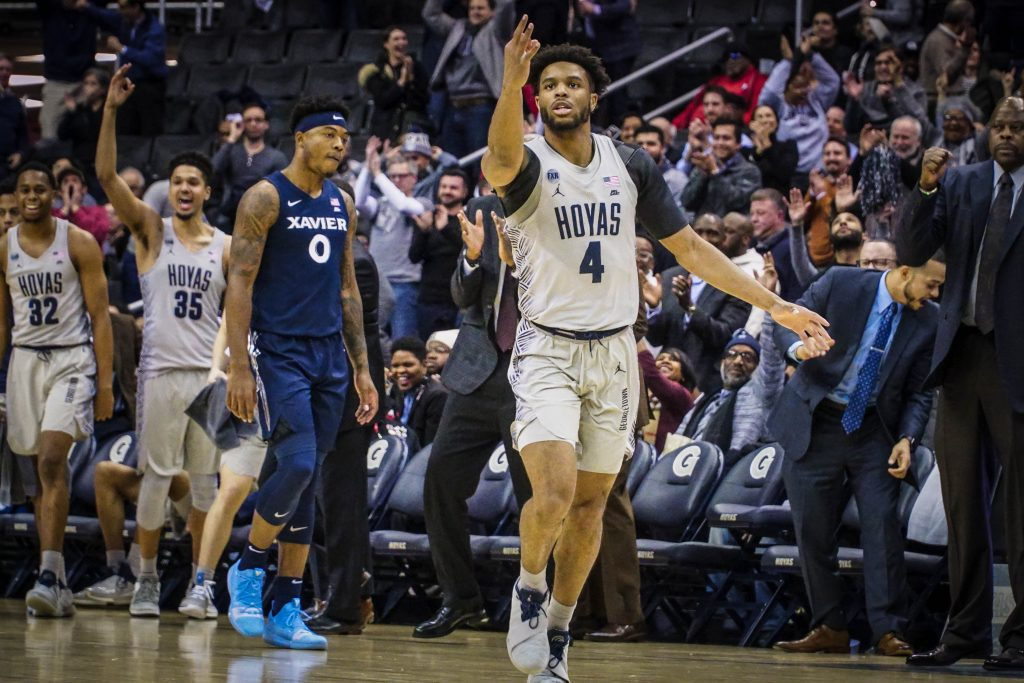 Men's Basketball Moves to Third in Big East with Comeback Win over Xavier