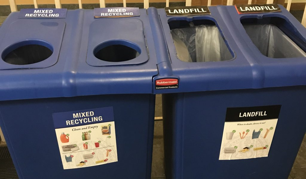 New Pilot Program Aims to Improve Student Recycling
