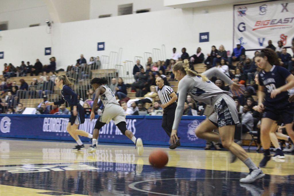 Women's Basketball Outlasts Providence in Tight Affair