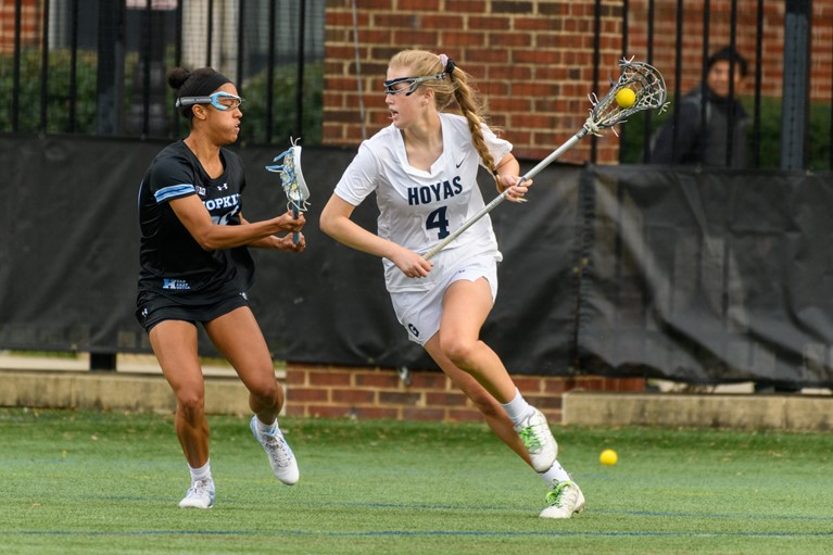 No. 18 Women's Lacrosse Gets Back on Track with Win over Delaware