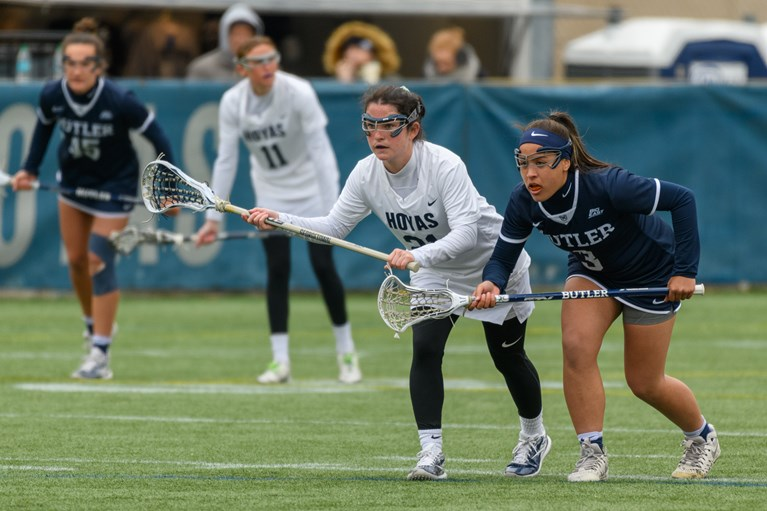 Women's Lacrosse Opens Conference Play with Big Win over Butler