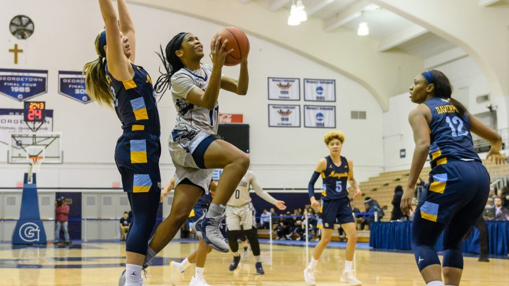 Women's Basketball Falls to No. 13 Marquette in Big East Semifinals