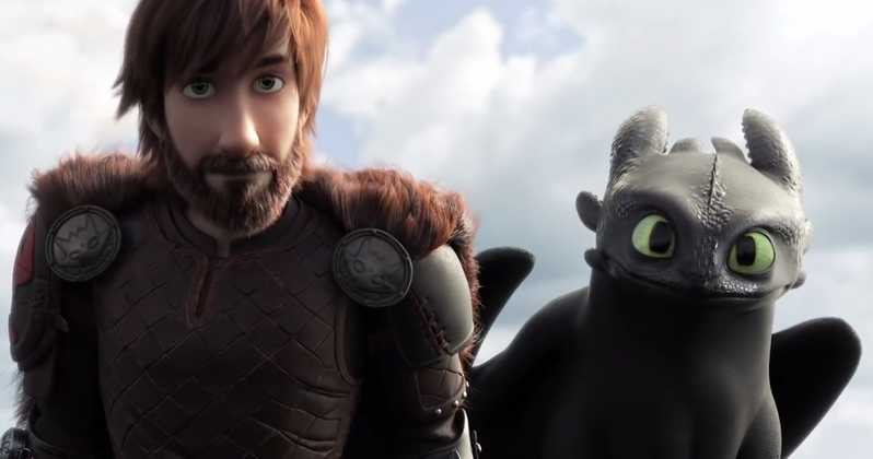 <i>How to Train Your Dragon 3: The Hidden World</i> on How To Say Goodbye